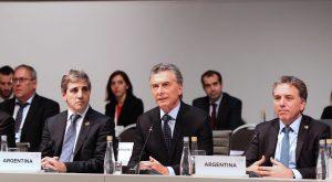 Macri destacó el «fuerte respaldo» de la comunidad internacional a la Argentina