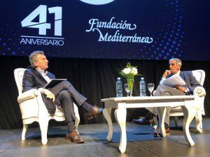 """Macri volvió a hablar de la """"tormenta"""" en la economía y advirtió de la """"pesada herencia"""""""