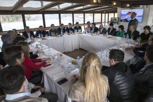 """En Bariloche, Macri criticó a los mapuches: """"nadie se puede creer por encima de la ley"""""""