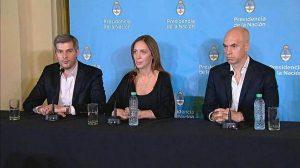 Reunión al más alto nivel de las administraciones de Cambiemos por el traspaso de servicios a Vidal y Rodríguez Larreta