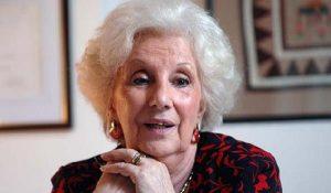 """""""Este cambio que se pretende hacer nos violenta"""", afirmó Estela de Carlotto"""