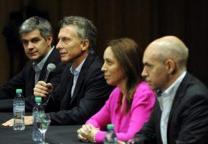 Larreta y Vidal condicionan el ajuste de gastos que le pide el Gobierno de Macri