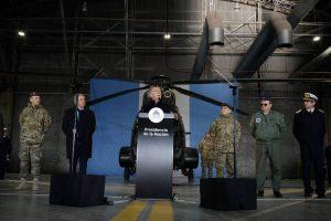 Al anunciar la reforma en las FF.AA, Macri pidió que colaboren con la seguridad interior