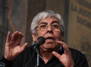 """Moyano salió al cruce del Gobierno al que calificó de """"gorila"""" y """"anti obrero"""""""