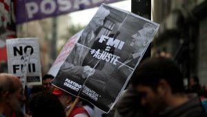 El sindicalismo combativo repudió la presencia del FMI y el G20 en Argentina
