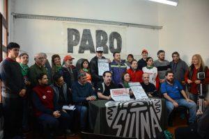 """El sindicalismo combativo se moviliza en rechazo al """"ajuste"""" del Gobierno y el """"pacto"""" con el FMI"""
