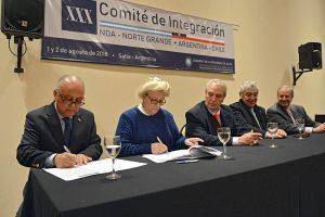 El Comité de Integración NOA- Norte Grande propone el fortalecimiento de la macroregión