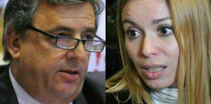 """Negri habló del """"saqueo"""" K y Estévez retrucó con duras críticas al Gobierno macrista"""
