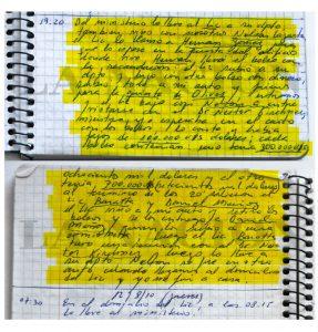 Los cuadernos de las coimas que registraba el chofer del exnúmero dos de De Vido