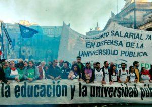 La CGT Córdoba expresó su apoyo al reclamo por el salario y el presupuesto universitario
