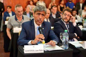 """Quinteros advierte de un """"triángulo de corrupción en Córdoba"""""""