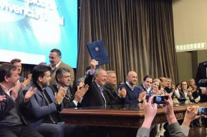 Acuerdo Federal: Salibi, Aviles y Romero deslizaron críticas contra Mestre y apostaron al entendimiento con la Provincia