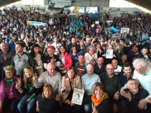 Con Sabbatella, Parrilli y Moreau, la tropa K local lanzó Unidad Ciudadana CBA