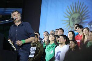 En plenario K, Máximo arremetió contra el Gobierno macrista y la Justicia