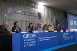 El 8° Congreso Iberoamericano de Pedagogía congrega a 900 participantes