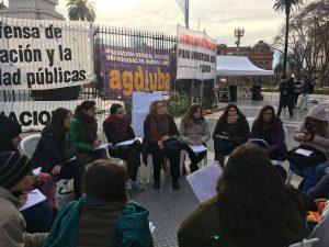 La FUBA (de Izquierda) repudió la represión policial a los estudiantes cordobeses y llamó a copar la Plaza de Mayo