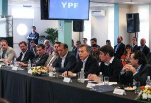 Macri encabezó la primera reunión de la Mesa de Producción de Vaca Muerta