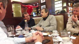 """Junto a Alfonsín, Rossi reafirmó que """"la UCR no forma parte de la toma de decisiones"""" del Gobierno del PRO"""