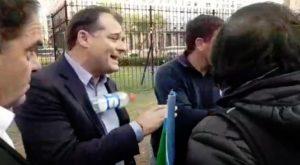 Por los despidos en la Fabrica Militar de Villa María, increparon al titular del PRO Córdoba