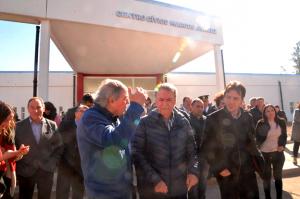 En Marcos Juárez, Schiaretti habló de «empate técnico» de cara a las elecciones municipales