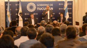 El tucumano Manzur encabeza el rechazo a la eliminación del Fondo Sojero