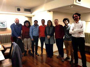 Méndez se mostró con la socialista Fein de cara al 2019