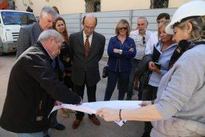 Legisladores se interiorizaron del proceso de restauración del Teatro San Martín