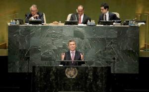 En medio de la negociación con el FMI, Macri dará su mensaje ante la Asamblea de la ONU