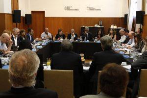Stanley y Rubinstein con ministros de Salud de las provincias