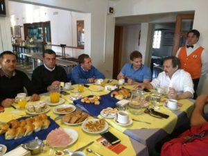Rossi volvió a mostrarse con Alfonsín y reafirmó su vocación de gobernar