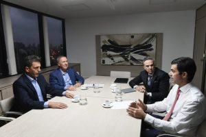 """Schiaretti, Urtubey, Massa y Pichetto ya """"caminan juntos"""" para ser """"alternativa"""" electoral en el 2019"""
