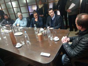 """Junto a referentes del PJ Río Cuarto, Urtubey pidió """"previsibilidad"""" al Gobierno nacional"""