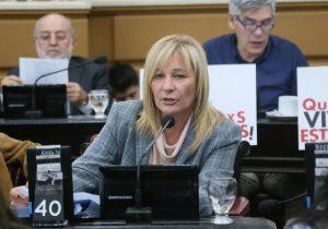 Unicameral: Caffaratti rechazó la fusión de la comisión de Lucha contra la Violencia de Género