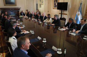 Fuerte señal de consenso político para lograr un «presupuesto equilibrado»