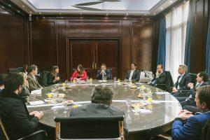 Macri y Sica se reunieron con PyMEs exportadoras que usaron Exporta Simple
