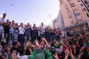 En Córdoba hubo marcha contra el ajuste del Gobierno y el FMI