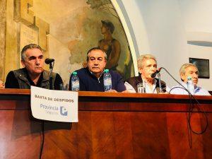"""La CGT y los gremios más cambativos calificaron de """"contundente"""" al paro contra el ajuste del Gobierno"""