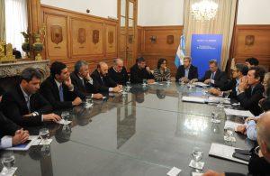 Frigerio: «Hay apoyo para que el Gobierno sancione el presupuesto»