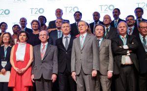 Macri en la apertura de la cumbre de las think tanks del G20