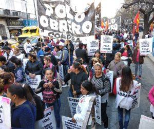 Hubo marcha del Polo Obrero en rechazo al ajuste de Macri