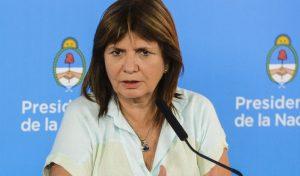 """La ministra de Seguridad denunció operaciones de """"políticos importantes"""" para promover saqueos"""