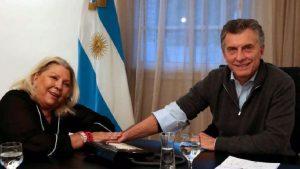 Carrió renovó su respaldo a la República y al Presidente Macri