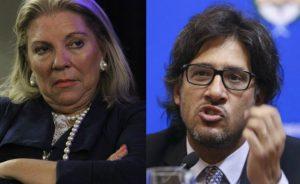 Juicio político: Carrió volvió a la carga contra el ministro Garavano