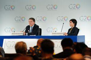 El G20 llama a resolver las tensiones comerciales