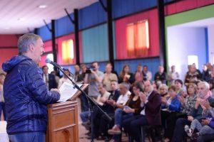 En medio de la crisis, Schiaretti valoró el acuerdo federal rubricado con los municipios