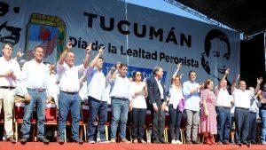 Nicolás apuntó contra el PJ por el «uso indecoroso» de bienes públicos en el Día de la Lealtad