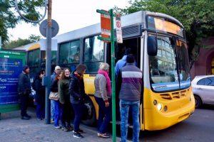 La UTA Nacional ratificó el paro de transporte a partir de las 22 de este lunes