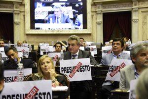 Peña ratificó el proyecto de Presupuesto 2019 ante el relamo opositor