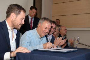 Villa María es la primera ciudad en recibir fondos ($ 2,7 M) del programa de obras que forma parte del Acuerdo Federal