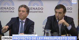 Senado: Bullrich confirmó que analizan la propuesta del Peronismo Federal sobre Bienes Personales